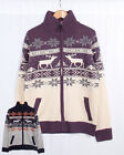 Mens Christmas Cardigan Knitted Full Zip Xmas Holiday Jumper Soul Star Sweater