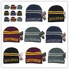 New Wool Hat Harry Potter Hufflepuff Slytherin Gryffindor Cosplay Accessories LJ