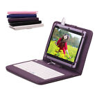 "iRULU eXpro 7"" 1024*600 HD Android 4.4 Tablet 8GB Quad Core Purple w/ Keyboards"