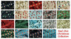 Reel Chic Christmas Grosgrain Ribbon Collection 19mm Wide 19 Designs Listed RC