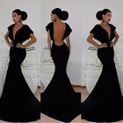 Sexy MERMAID Womens Long Bodycon Prom Ball Party Maxi Dress Formal Evening Gown