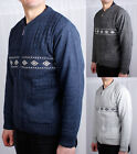 Mens Cardigan Knitted Zip Jumper Heritage Knitwear Sweater Winter Top Knit