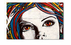KUNST BILD pop art GRAFFITI  LEINWAND BILDER GEMÄLDE LONDON XL DEKO 3742x