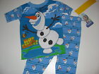 "New Disney Frozen Olaf pajamas Toddler Boys 2t 3t 4t 5t Olaf pajamas ""Hot Stuff"""