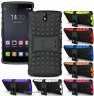 New Grenade Grip Rugged Tpu Skin Hard Case Cover Stand For Oneplus One Phone