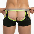 Hollowed Front & Back  Sexy Underwear Boxer Briefs Mens Shorts Panties Lingerie