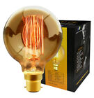 B22 Bayonet Filament Vintage Edison Style Squirrel Cage Lamp Light Bulbs