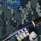 Hydrographics Dip Kit Water Transfer Printing Camo Black & Blue Digital mc-851