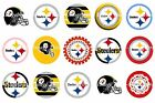 Pre-Cut One-Inch Pittsburgh Steelers Bottle Cap Images