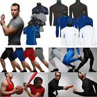 Mens Thermal Compression Under Skins Tights Fitness Base Layer Tops Shirts / Pants