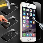 100% GENUINE TEMPERED GLASS FILM SCREEN PROTECTOR FOR APPLE iPhone 6 4.7 5S 5C 5