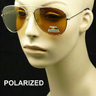 HD HIGH DEFINITION SUN GLASSES VISION BLUE RAY BLOCKER ORANGE LENS AVIATOR MM3