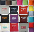 RESERVED for Dad Mum Grandad Grandma Personalised Embroidered cushion birthday