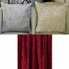 Vivian Velvet Luxurious Knitted Pair Of Cushion Covers In Ivory, Mink, Wine