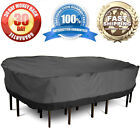 Large Patio Table/Chair Cover Garden Outdoor Furniture Winter Storage Protection