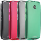 New Ultra Slim Fit TPU Flexible Protective Soft Case Cover for Motorola Moto E
