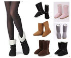 Fashion Winter Womens Winter Warm Snow Boots Shoes Size US 5-9 Warm Shoes Botas