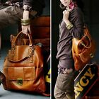XMAS SURPRISE Womens Lady Classic Large Tote Bag Handbag Satchel PU Leather HOBO