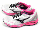 Mizuno Wave Resolute (W) White/Black/Pink Sportstyle Running Shoes 8KN-32109
