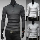 Free Post ~ Muscle Men's BASEBALL PULLOVER JUMPERS Casual Sweater T-shirts Tops