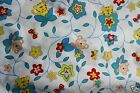 Children Baby Nursery white butterfly monkey flower jungle print fabric