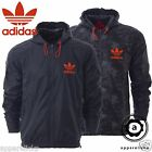 Adidas Originals Camo Reversible Men's Windbreaker Hooded Navy Jacket Top O55866