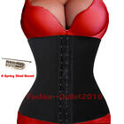 Waist Tummy Girdle Glass Trainer Body Shaper Underbust Control Belt Corset G32##