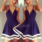 Sexy Ladies Summer Casual Sleeveless Party Evening Cocktail Short Mini Dress