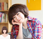 New Short Women's Curly Wavy Hair Full Wigs Cosplay Party Bob Fashion Style