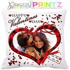 ❤personalised Photo Cushion Wedding Anniversary Gift Valentines Christmas Love❤