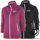 Nike Full Zip Tracksuit Top Women's Sweatshirt Black Pink All Sizes 515114