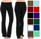 T-PARTY QUALITY YOGA Slim Fitness Foldover Heavy Thick Flare Pants WHIMSY S,M,L