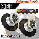 CNC Billet Racing Swingarm Spools Sliders M6 for Yamaha YZF R1 00-14