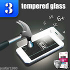 3x TEMPERED GLASS for iPhone 6+ 6 5 5S 5C 4 Premium Slim Screen Protector Film ~