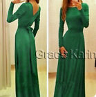 4 Colours Newest Bridesmaid Dress Dresses Evening Ball Party Prom Formal Wedding