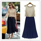 Sexy Women Summer Boho Long Maxi Evening Party Dress Beach Dress Chiffon Dresses