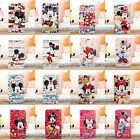 Cartoon Mickey & Minnie Mouse Leather Wallet Case Cover For Samsung Galaxy Note4