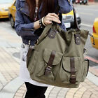 New Korean Canvas Large Women's Casual Weekend Shoulder Totes Bag Satchel Hobo