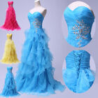 NEW STOCK Bridesmaid Formal Gowns Ball Party Cocktail Evening Maxi Prom Dresses