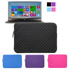"Neoprene Portfolio Sleeve Carrying Case Pouch Bag For 13.3"" Dell XPS13 Ultrabook"