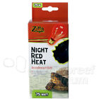 Zilla Night Red Black 25 50 75 100 150 W/Watt Heat Light Reptile Terrarium Bulb