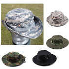 Tactical Miilitary Hiking Camping Outdoor Fishing Boonie Sun Block Hat Cap US