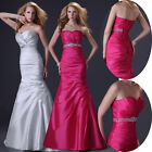 ELEGANT Prom Dress Formal Party Long Gowns Ball Evening Wedding Bridesmaid Dress