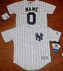 New York Yankees Cool Base MLB Majestic Kids Youth  Replica Jersey add name #