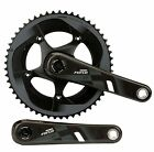 SRAM FORCE22 165 / 170 / 172.5 / 175mm CRANK SET BB30 BLACK YAW 11 Speed Only 697g