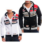 Geographical Norway Herren KapuzenPullover camp Sweatshirt Hoodie Jacke Flyer