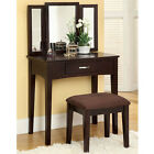 Potterville Classic Traditional Style Vanity Table Set