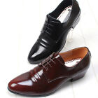 Excellent Leather Modern Dress Lace Up Mens Shoes