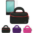 """Sleeve Handle Case Bag+Screen Protector For 8.4"""" Dell Venue 8 7000 Series (7840)"""