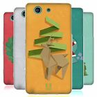 HEAD CASE ORIGAMI XMAS SILICONE GEL CASE FOR SONY XPERIA Z3 COMPACT D5803